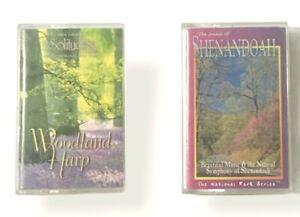 Dan Gibsons Solitudes Woodland Harp Symphony Of Shenandoah Easy Listen Cassettes
