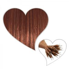 25 Nano Ring Extensions 60 Cm Maha Go Ni Brown #33 Haar With Genuine