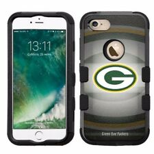 for Apple iPhone 8 Plus Armor Rugged Hard Hybrid Case Green Bay Packers #BG