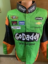 Danica Patrick Nascar Go Daddy Green Uniform Women's Jacket Chase 1X