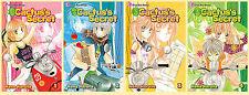 Cactus's Secret MANGA Collection 1-4! Nana Haruta