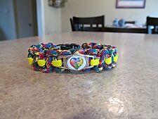Autism Awareness Paracord Bracelet - handmade