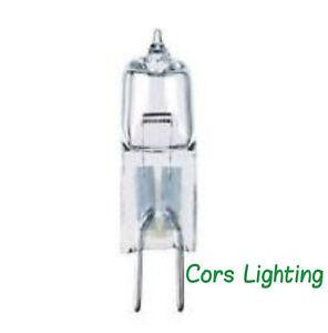 10 PACK- 10 watt 12 volt T3 Bi-Pin G4 Base Clear Halogen Light Bulb 12V Lamp