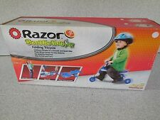 NEW RAZOR JR SCUTTLE BUG FOLDING TRICYCLE / AGES 9 MONTHS TO 3 YEARS / 44 POUNDS
