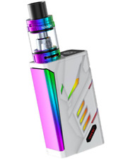 100% Authentic SMOK T-Priv - Tpriv Kit 220W Mod w/ Big Baby Tank -Rainbow white