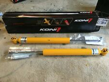 Pair KONI Yellow Sport Adjustable Shock Absorbers for Mercedes-Benz C-Class W204