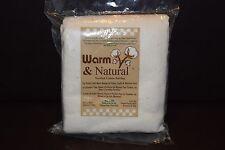 Warm & Natural 34x45 Needled Cotton  Batting