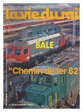 LA VIE DU RAIL 1982 N° 1869 VAPEUR A BALE ESPAGNE