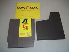 Nintendo Entertainment System NES Console Game - Low G Man