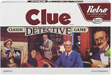 Retro Clue Family Fun Classic Interactive Strategy Board Game Hasbro Hsbb2848