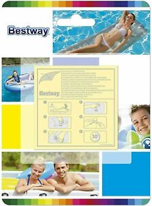 Inflatable Repair Kit Puncture For Pools Airbeds Hot Tub Heavy Duty Patches