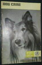 Vintage Rough Coated Collie Cover Dog Care by The Boy Scouts of America