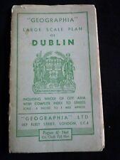 Geographia large scale plan of Dublin - Ireland / Irish