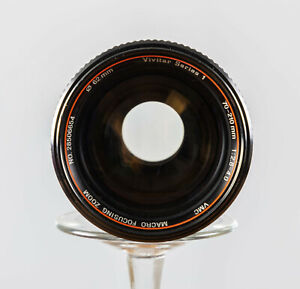 Vivitar Series 1 70-210mm F2.8 Komine Version III for Canon FD w/case Tested!