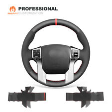 Leather Suede Steering Wheel Cover for Toyota Land Cruiser Prado Tundra Tacoma