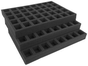 Tray Set for Classic Gamesworkshop GW plastic case - carry 120 figures (STGW40S)