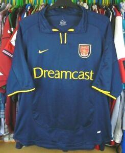 ARSENAL 2000-2001 3rd KIT DREAMCAST NIKE FOOTBALL SOCCER SHIRT JERSEY TOP XL