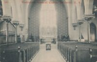 TARRYTOWN NY – Washington Memorial Church Interior
