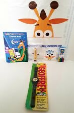Toys R Us NEW 1995 Geoffrey Watch Memorabilia Black RARE Keychain and more...