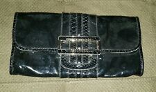 ANYA HINDMARCH wallet black handbag clutch