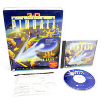 3-D Ultra Pinball for PC CD-ROM BY Sierra On-Line in Big Box, VGC, CIB
