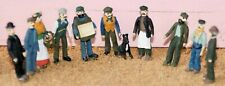 Victorian Edwardian Working Class F9p PAINTED OO Scale Models People Figures