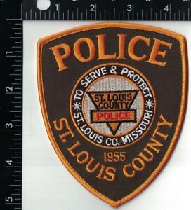 St. Louis County Police Patch Missouri MO