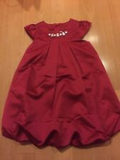 New Gymboree Satin Red Gem Bubble Dress NWT Party Plaid Holiday Christmas 5t