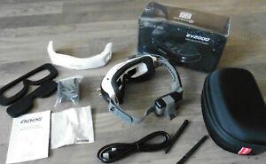 Eachine EV200D FPV-Brille mit Doppel-Diversity, weiß