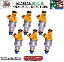 Authentic BOSCH Fuel Injectors -1986-1993 BMW 535is 635CSi 3.5L I6- Rebuilt 6pcs