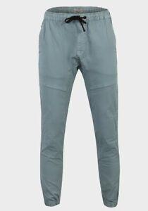 "Mens Jogging Panel Trousers 26""-36"" Grey Ex UK Chainstore M&S 100% Cotton BNWOT"