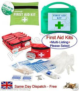 Travel First Aid Kit Emergency Home Camping Bag Bike Car Work Sports Holiday