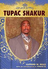 Tupac Shakur (Hip-Hop Stars (Hardcover)), Wayne A. Anderson, Very Good, Library