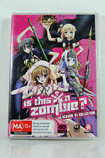 Is This a Zombie? Season 1 Collection - Region4 DVD - BRAND NEW