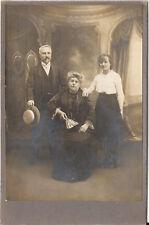 CAB Foto Schönes Familienbild - Frankreich 1910er