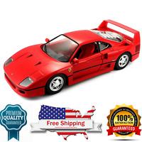 diecast model Ferrari F40 Sports Car race and play 1:24 Scale