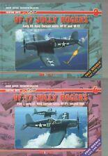 Set of VF-17 Jolly Rogers pt.1 & 2 - AJ-Press ENGLISH !!+Free Decals