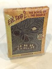 Evil Dead 2: Dead by Dawn (The Book Of The Dead 2 Edition DVD w/Box) Rare OOP