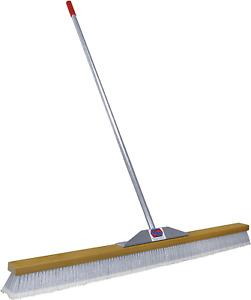 Super Sweep 48-Inch Gray Flagged Broom