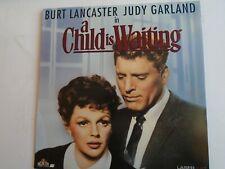 A CHILD IS WAITING LASERDISC NTSC Burt Lancaster Judy Garland