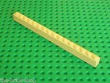 LEGO Star Wars Tan Brick 1 x 16 ref 2465 / Set 7171 7194 4588 4954 5378 10187...