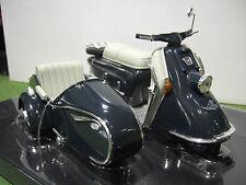 Moto HEINKEL ROLLER Side Car 1960 / 1965 au 1/10 SCHUCO 06540 voiture miniature