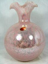 Beautiful shaped Murano glass vase # Formschöne Glas Vase Italy original label