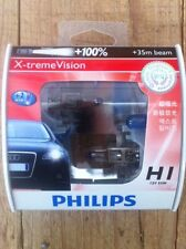 1 x PAIR Philips H1 Headlight Globes X-treme Vision +100% Brightest Upgrade EVER