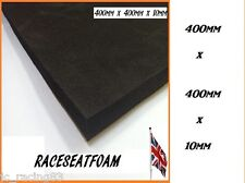 Motorcycle Race Seat Foam,10mm Thick,Self Adhesive, XL Cut 400mm x 400mm