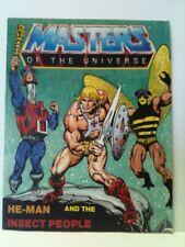 """HE-MAN & The INSECT PEOPLE"" Mini Comic~MOTU~ MASTERS"