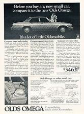 1975 Oldsmobile Olds omega 4-door -  Classic Vintage Car Advertisement Ad J22