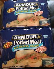 24CANS OF ARMOUR POTTED MEAT. 3oz.CANS