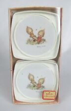 Vintage Hallmark Betsey Clark on See-Saw Set of 4 Drink Coasters - Mint in Box