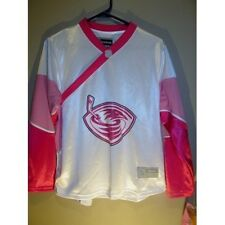 Atlanta Thrashers PINK jersey - Reebok Women's medium